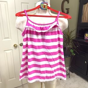 GAP Kids Lavender/White Striped Cami Size XL (12)